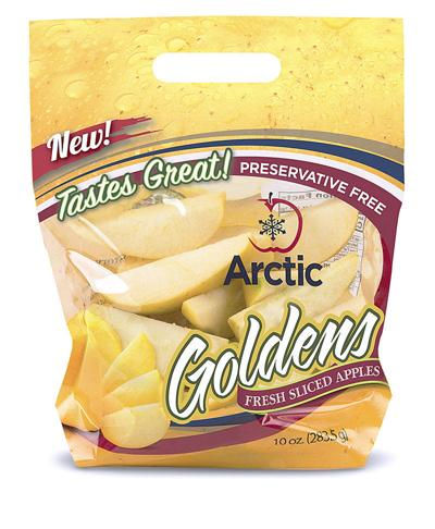 Arctic sliced apples