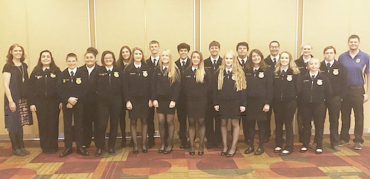 Goldendale FFA receives awards at national FFA convention