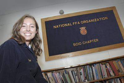 Hard-working Scio FFA members help Expo
