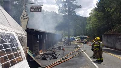 Galice Resort fire