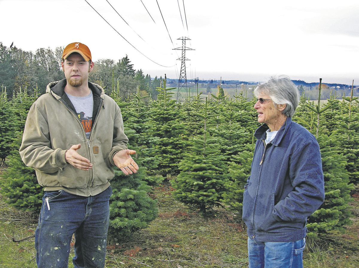 Farmers question power line
