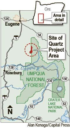 Judge denies injunction against 500-acre logging project