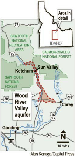 Study of Wood River aquifer shows poor recharge retention