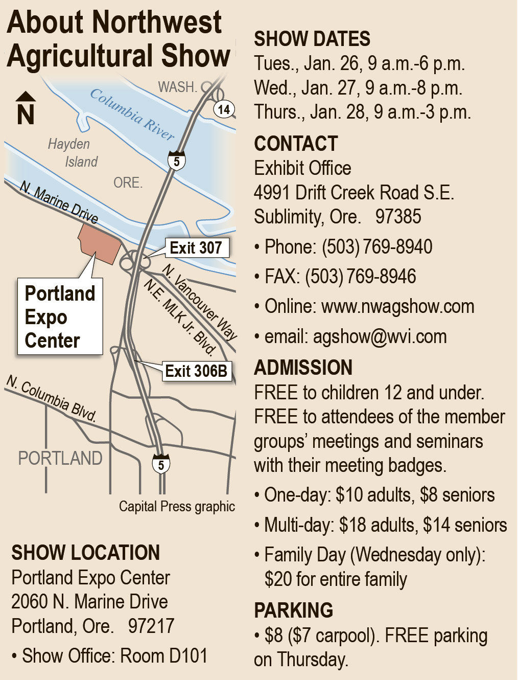 Northwest Ag Show: Totally devoted to agriculture