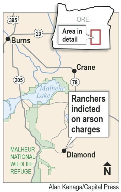 Trial set for ranchers in arson case