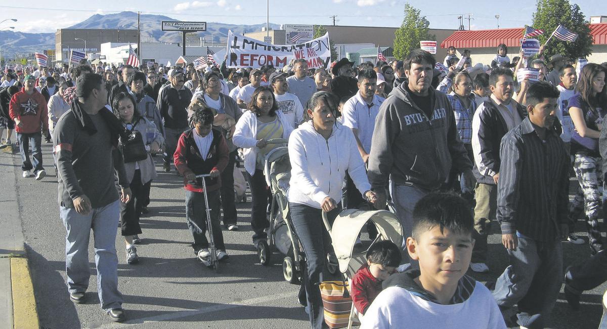 Marchers demand change