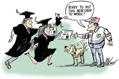 Students looking to expand job prospects should turn to ag