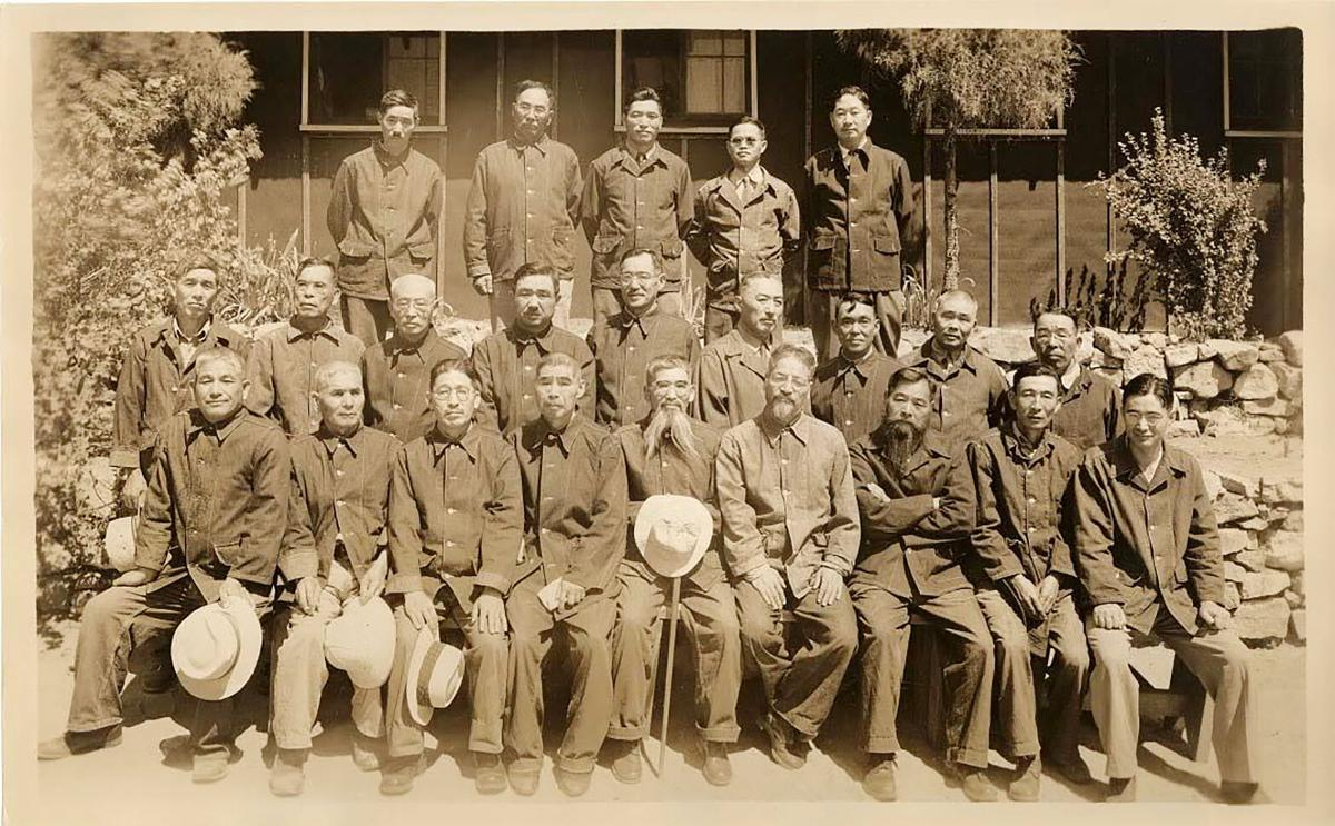 Internees at the Lordsburg Detention Center
