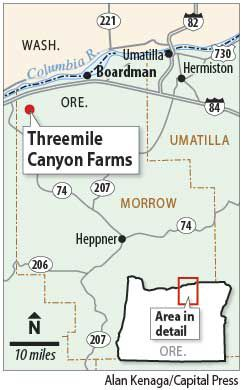 Threemile Canyon