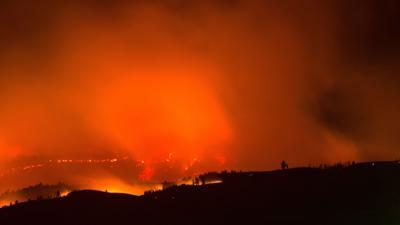 Rangeland fire