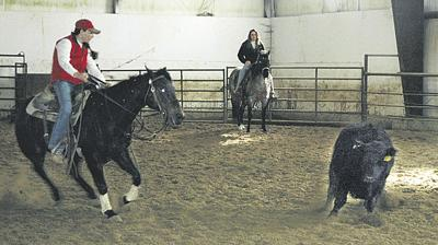 Youth ride high in arena