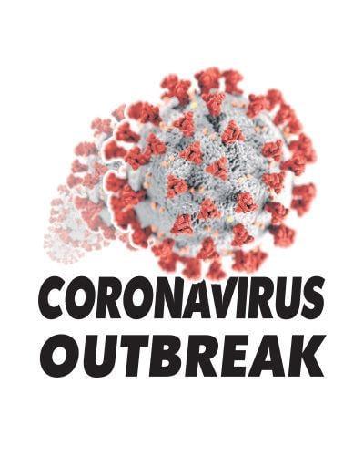 Coronavirus logo online