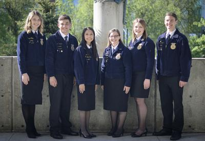 Wash. FFA incoming officers 2019