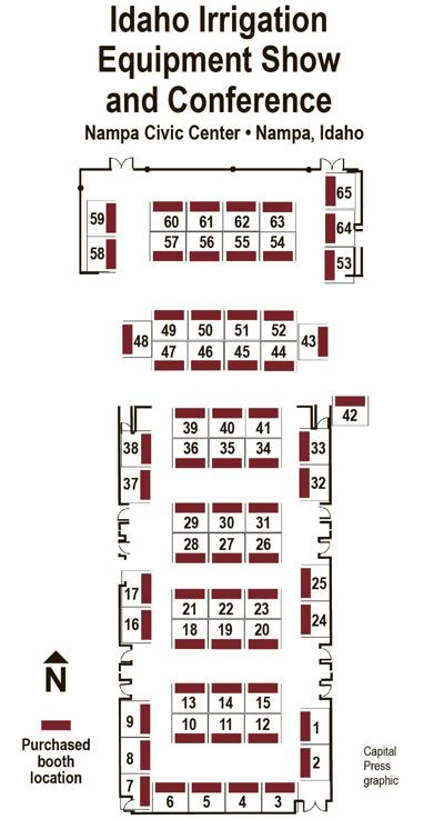 Where to find our exhibitors