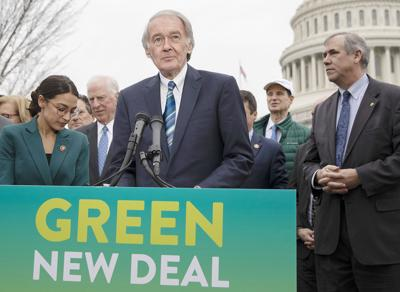 Congressional Democrats unveil Green New Deal