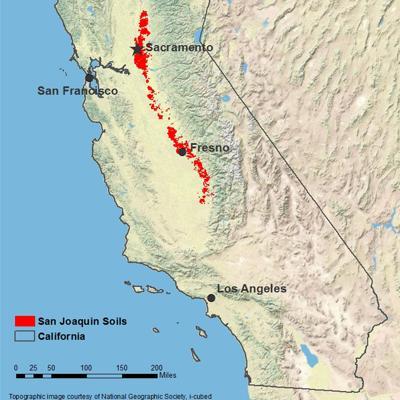 San Joaquin soil