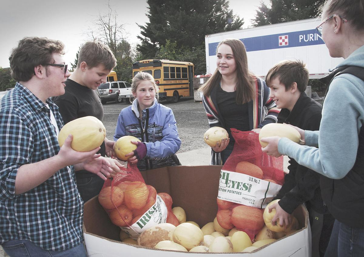 FFA collects 350,000 pounds of food for needy families