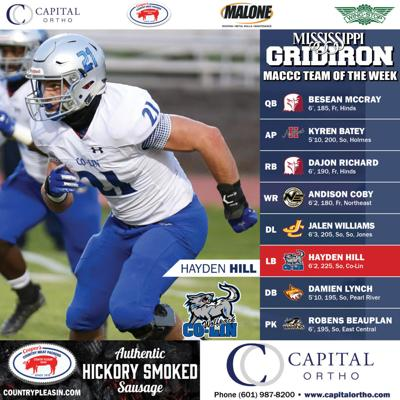 2020 JUCO Team of the Week W5