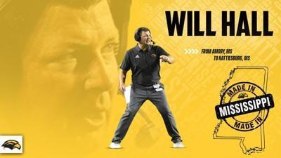 USM: Will Hall Hire Graphic