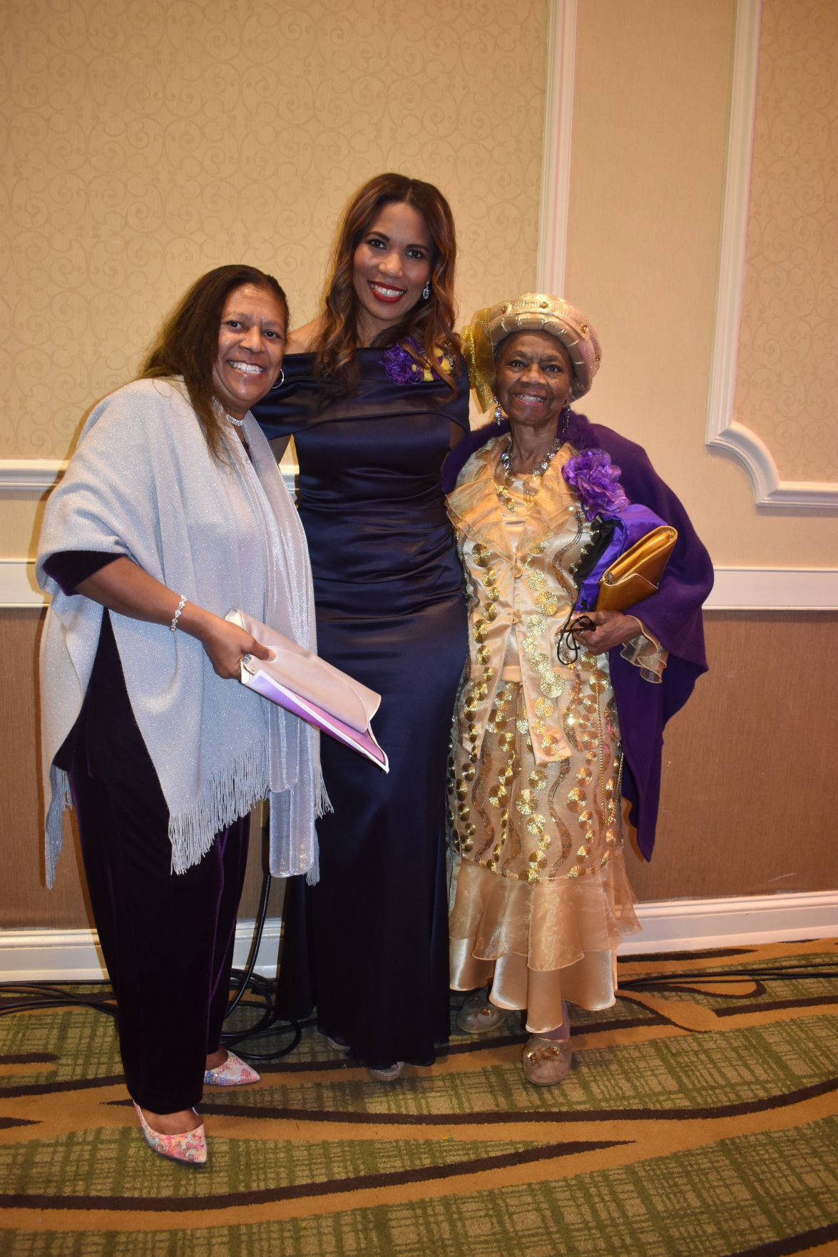 Teresa Wilson, Benedict College President Dr. Roslyn C. Artis and Dr  Gadys Goforth