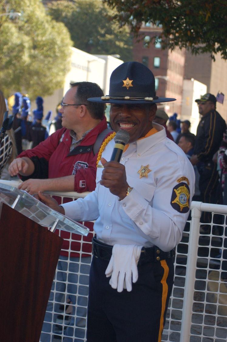Veterans Day Parade - MC Curtis Wilson