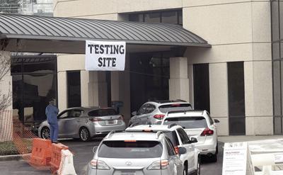 Drive-Thru Testing Site