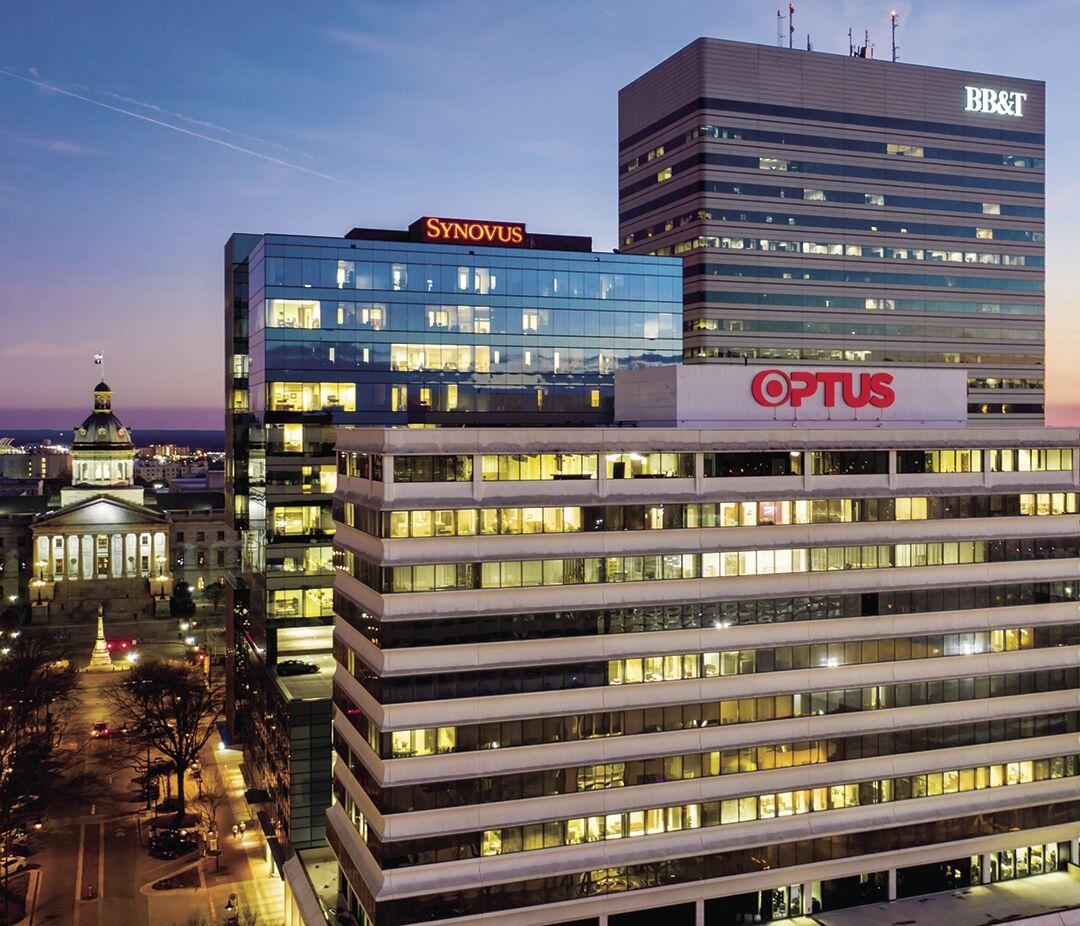 Optus Bank building