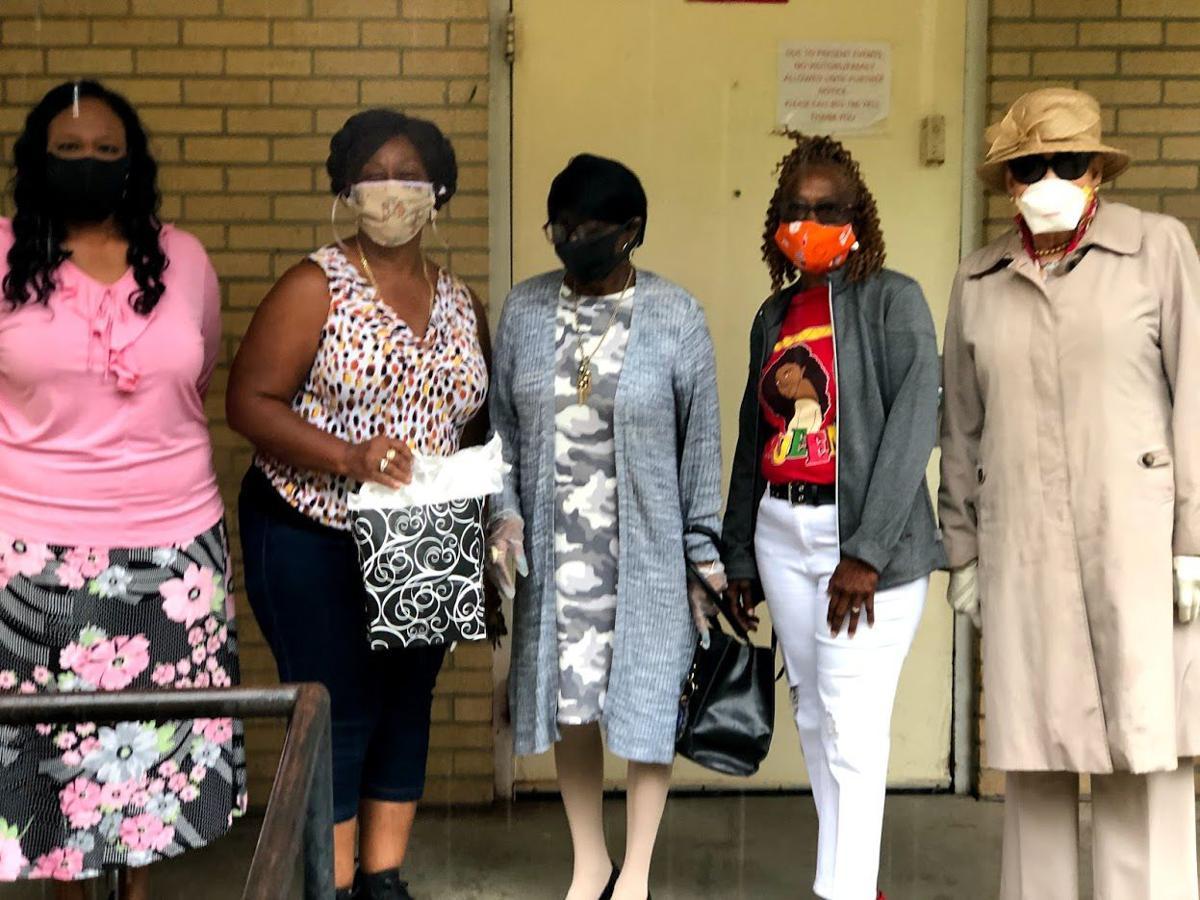 NAUW wearing masks