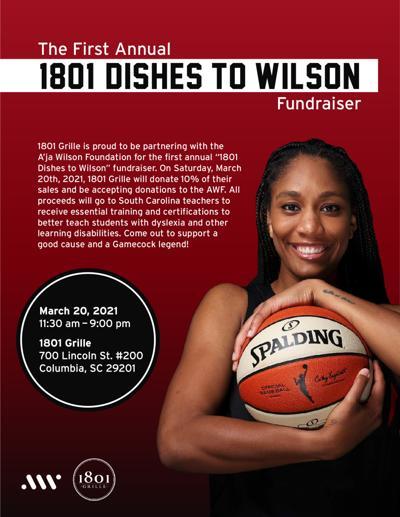 A'ja Wilson Fundraiser