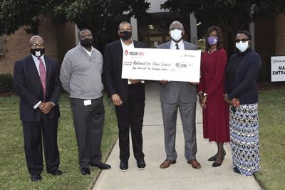 Richland One donation
