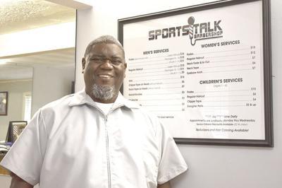 Keith Amos - SportsTalk Barbershop