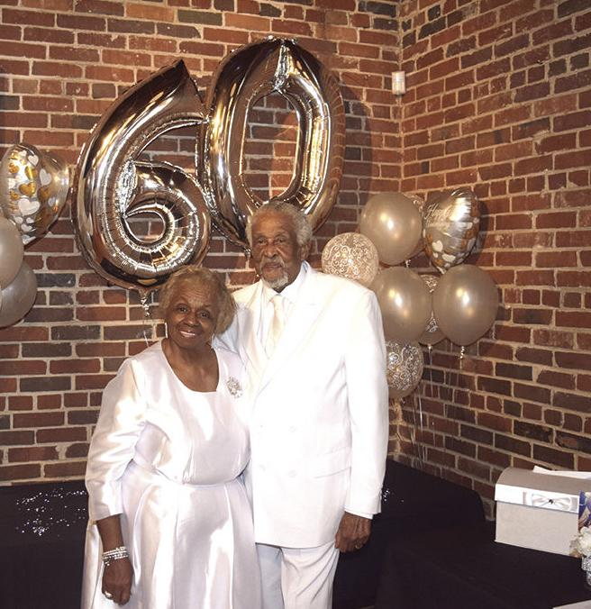 Columbia Couple Ethel & Malcom Walters celebrates 60th Wedding Anniversary