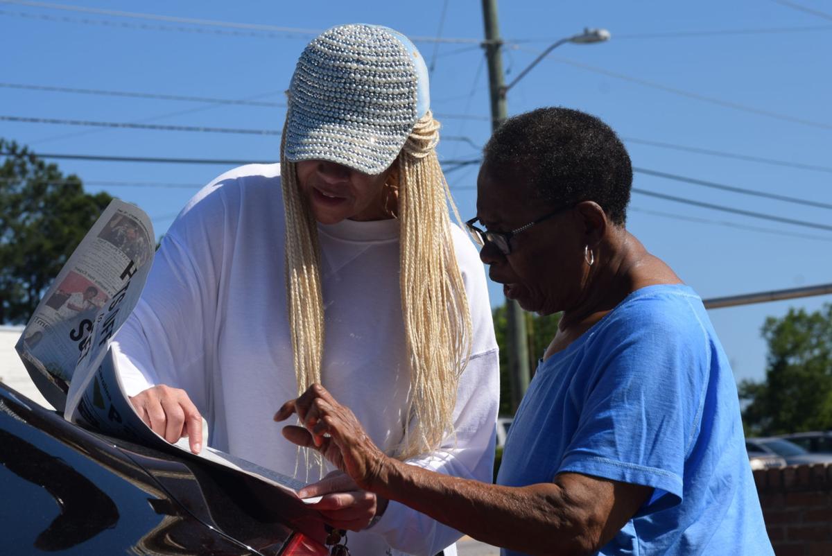 Ms. Shirrlene Johnson and Ms. Martha Livingston