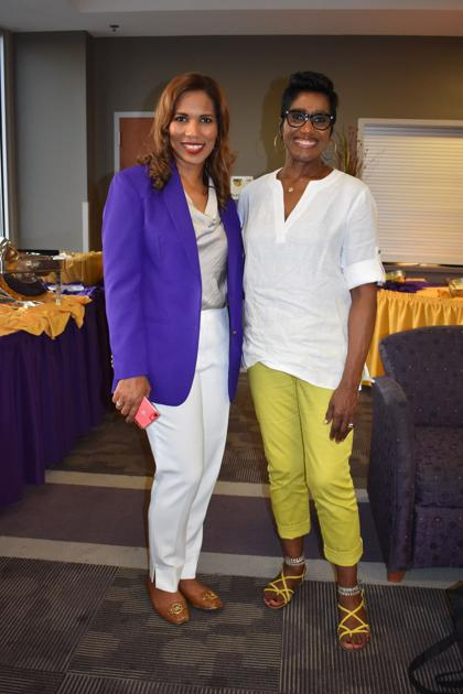 Colleges In Columbia Sc >> Benedict College President Roslyn Artis & Evelyn Williams ...