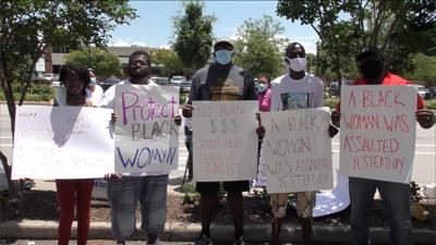 Harden Street Protest