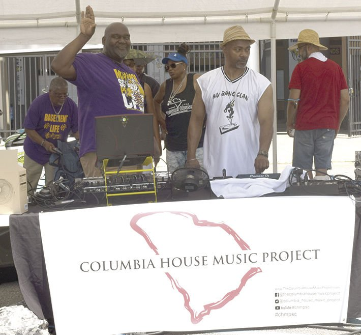 DJs come to support the Columbia House Music Project