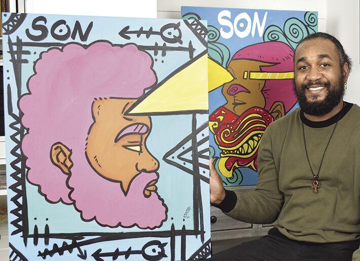 Dominique Hodge, Da Dream Designs (Visual Artist, Muralist, Teacher) Young Entrepreneur