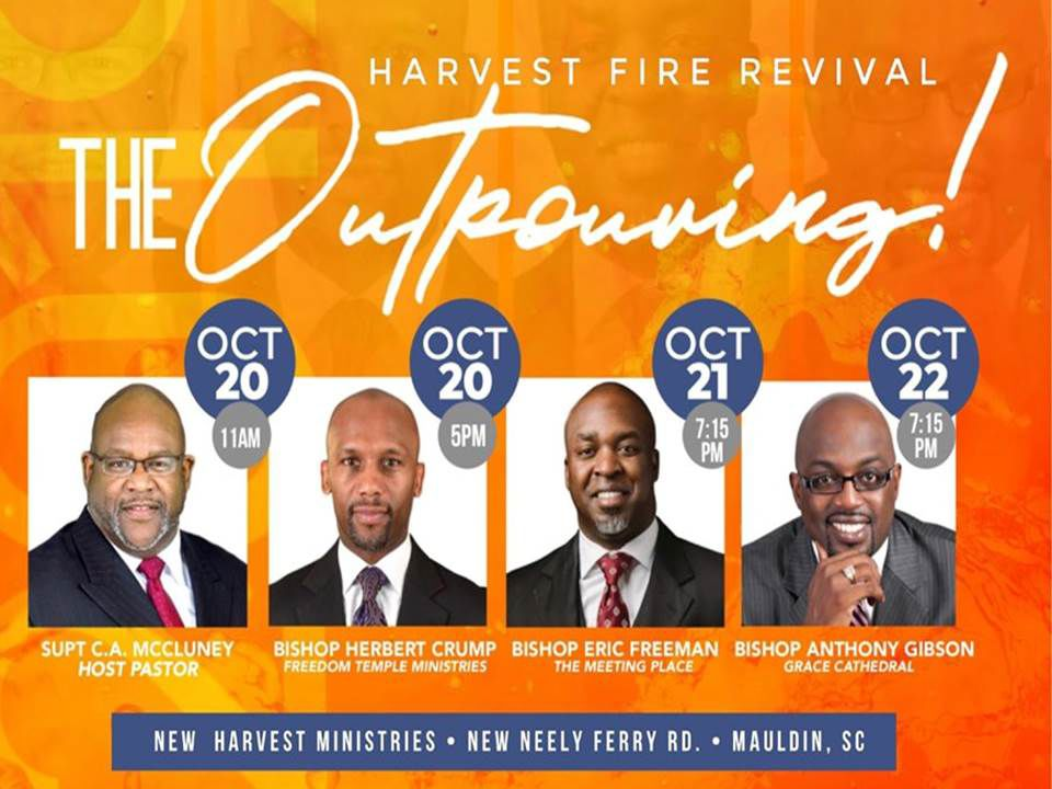 Harvest Fire 2019 Revival