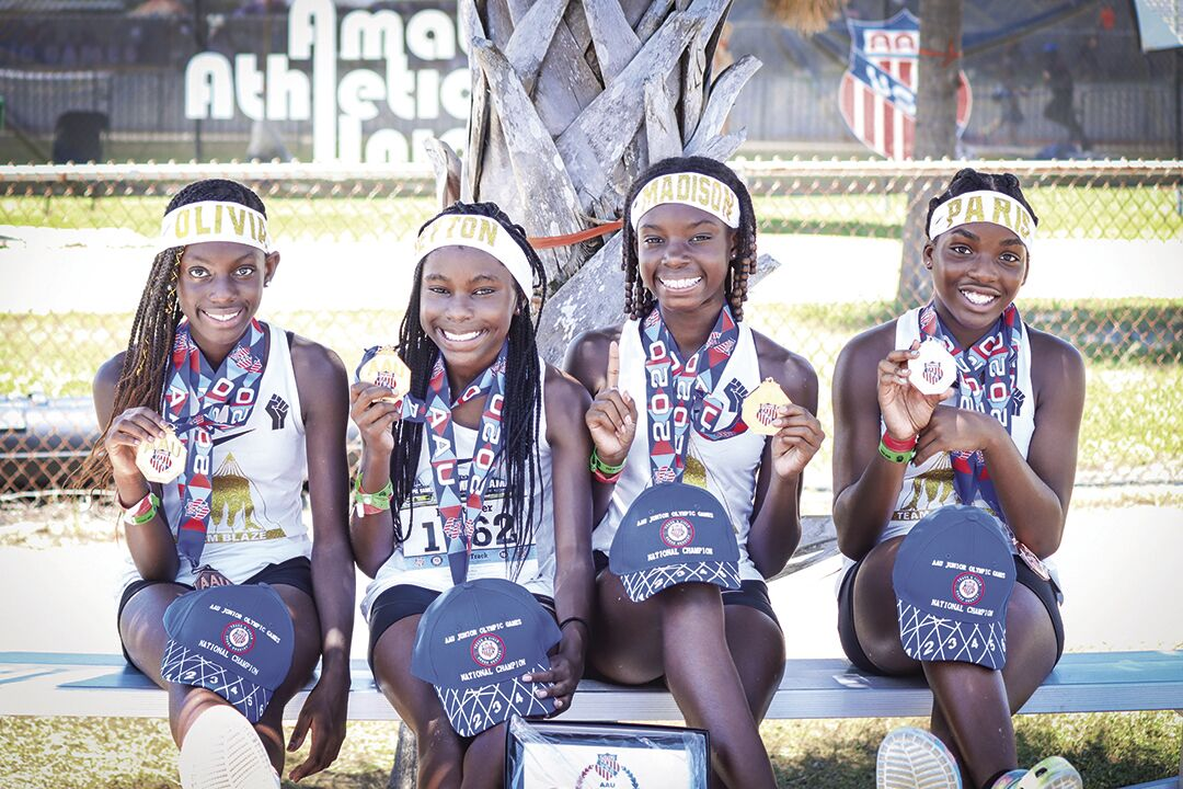 Four Richland Two middle school students win national track competition