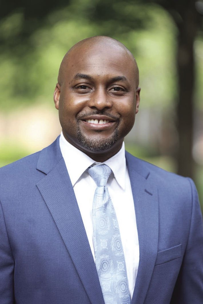 New Claflin faculty member Dr. Nicolas J. Hill