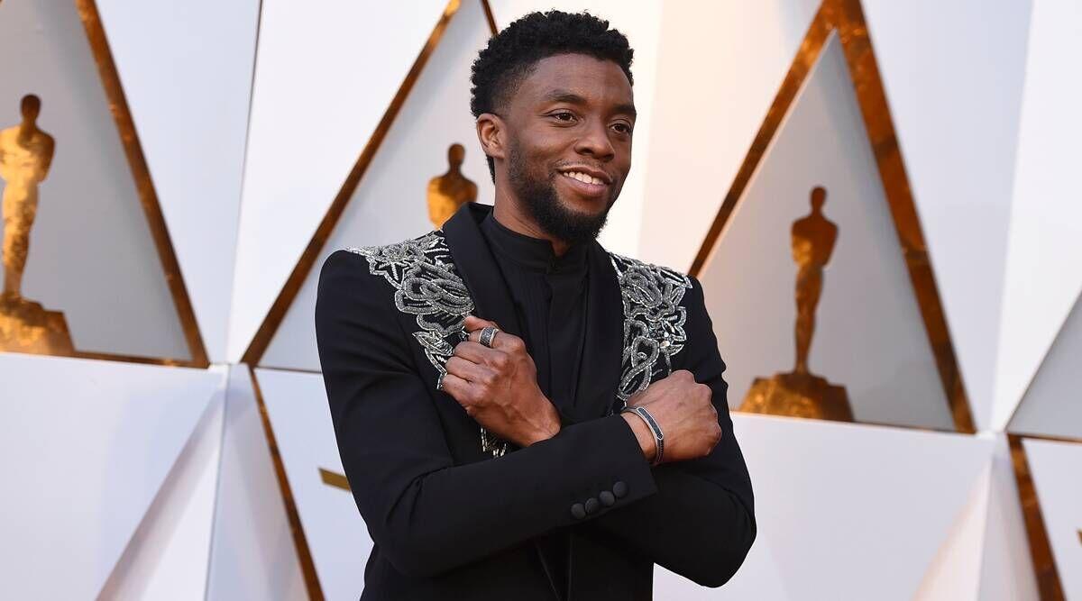 Chadwick Boseman infamous greeting