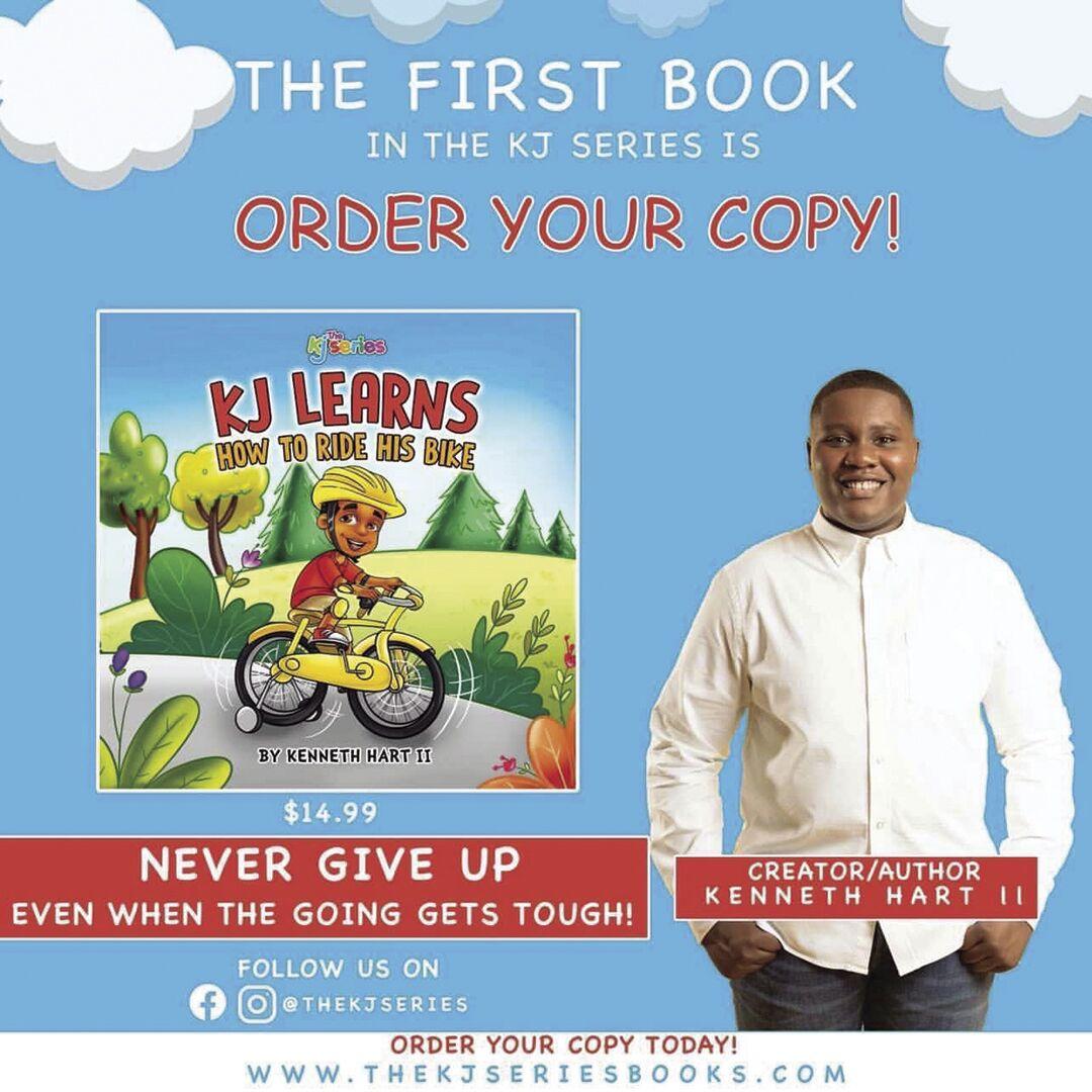 """Kenneth """"KJ"""" Hart II - 1st book"""