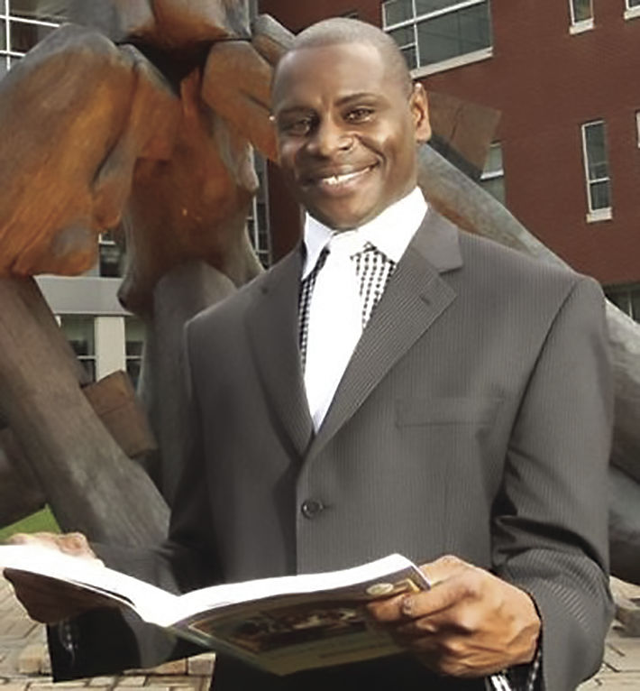New Claflin faculty Dr. Anthony A. Pittman