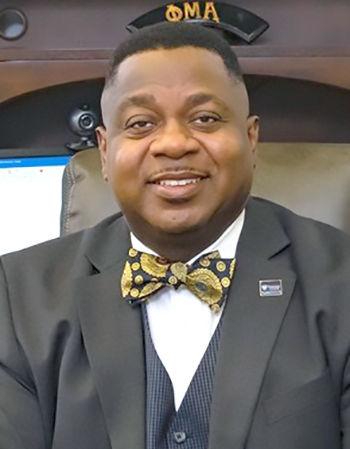 Voorhees president Dr. W. Franklin Evans