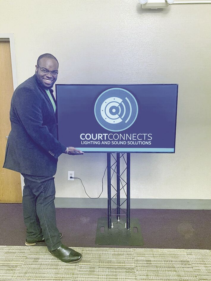 Courtland Thomas w/monitor