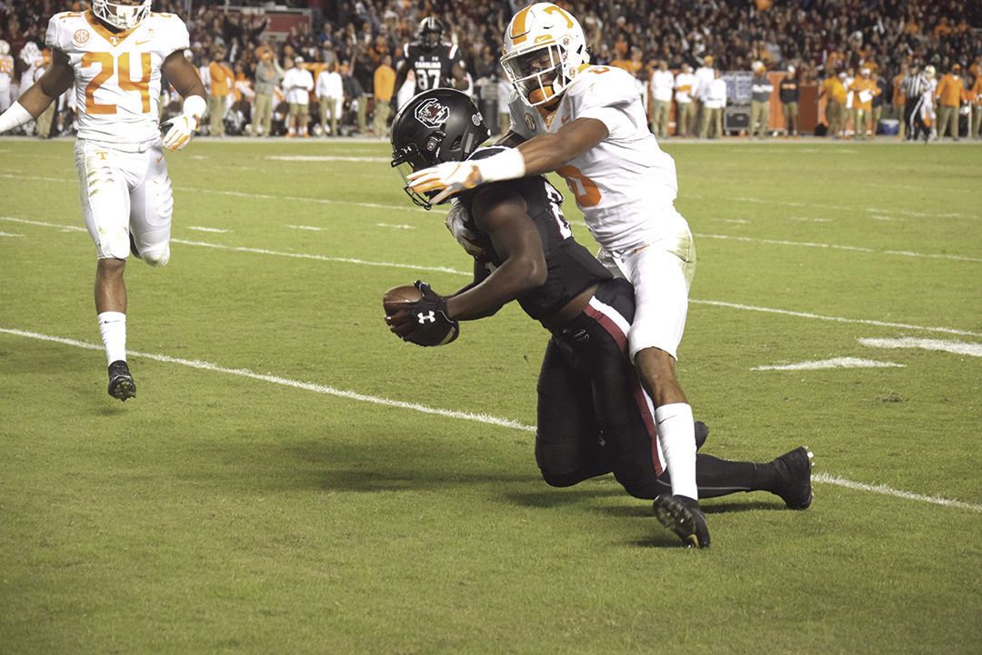 Edwrds tackled short of endzone