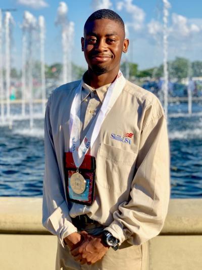 Travonte Gadson National SkillsUSA Winner