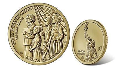 Septima Clark coin