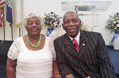 Mrs. Fannieand Pastor Sam Goodwin
