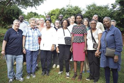 Members of NAUW Women traveled to Kenya